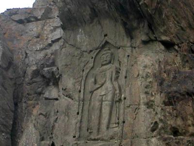 Buddha At  Kargah  Gilgit