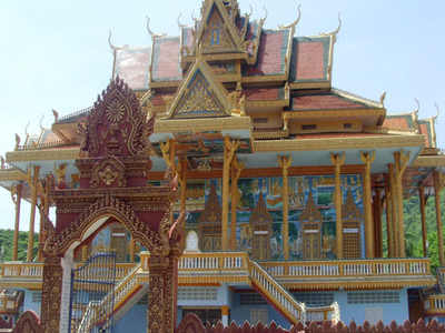 Buddhist Temple In Battambang