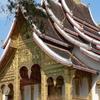 Buddhist Temple At Royal Palace In Luang Prabang