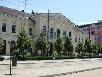 Building Of Old City Hall, Debrecen