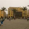 Buildings Around Plaza Des Armas