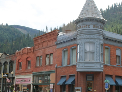 Buildings In Wallaces Historic District