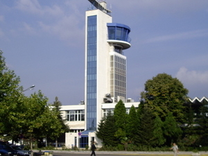 El aeropuerto de Burgas