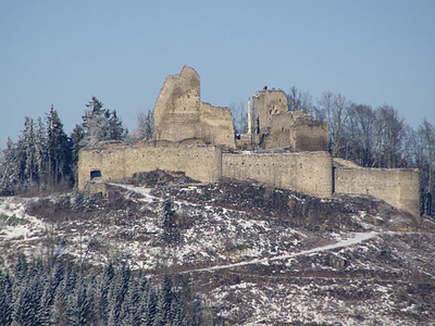 Burgruine Ruttenstein, Upper Austria, Austria