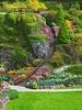 Butchart Sunken Gardens - Victoria BC