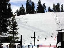 Ski Lift To Lowest Summit