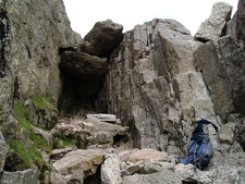 Bad Step On Crinkle Crags
