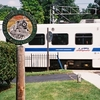 Baltimore Light Rail In Linthicum