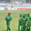 Bangladesh Team Returning To Dressing Room