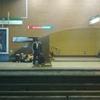 La estación de metro Baquedano