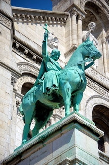 Equestrian Statue Of King Saint Louis