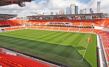 BBVA Compass Stadium Skyline View