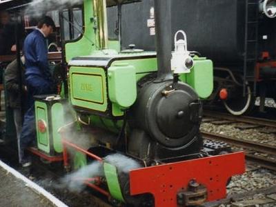 Loco Pixie At Devon Railway Centre