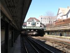 Beverley Road Station Platform