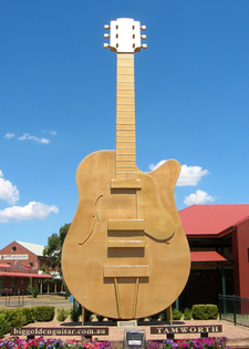 The Big Golden Guitar
