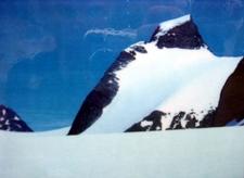 Summit Seen From Bohr Glacier