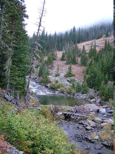 Big Timber Creek Falls - Montana