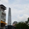 Bitexco Financial Tower View From Street