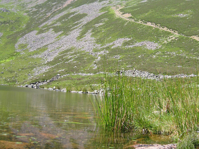 Red Pike From Bleaberry Tarn