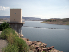 View Of Blue Mesa Dam