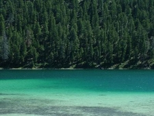 Blue Waters Of Cliff Lake