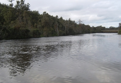 Hotham River At Boddington