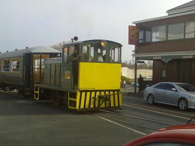 A Bay Of Islands Vintage Railway Train