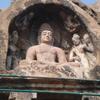 A Sitting Buddha Statue