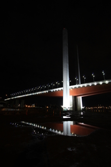 Bolte Bridge From The Base Of The Bridge