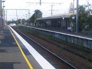 Bonbeach la estación de tren