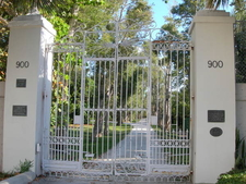 Bonnet House Gate