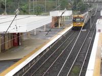 Boondall la estación de tren
