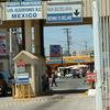 Border Crossing Into Los Algodones From Andrade California