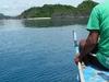 Boat Man At Lahos Island