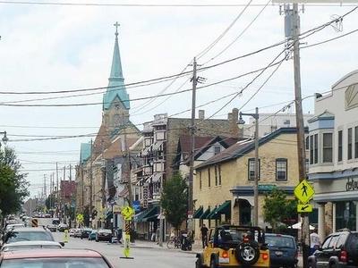 St. Hedwigs From Brady Street