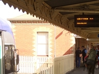 Ararat estación de tren