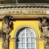 Bronzelettern Sanssouci