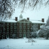 University Hall In Winter