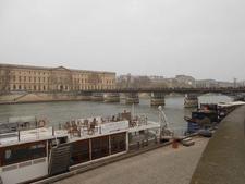 Bridge And La Seine