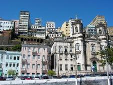 Building Facades Harbor Salvador