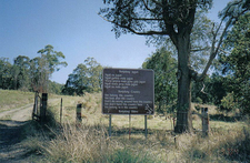 Entrance Sign At Bundjalung National Park