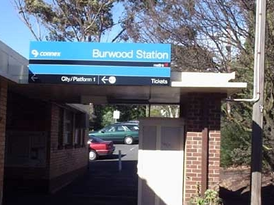 Burwood Railway Station Melbourne