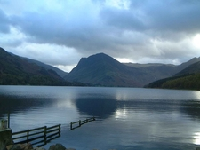 Fleetwith Pike In The Background