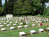 Pedestal Markers Of First World War Military Graves