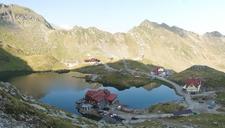 Cabana Balea Lac Amid Fagaras Mountains