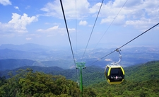 Cable Car In Bà Nà Mountains