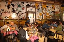 Cafe Mondegar Interior - Colaba Causeway