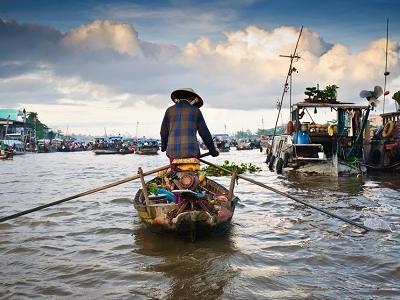 Cai Rang Can Tho Floating Market