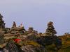 Cairn On Chandrashila Peak