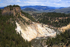 Calcite Springs - Yellowstone - USA